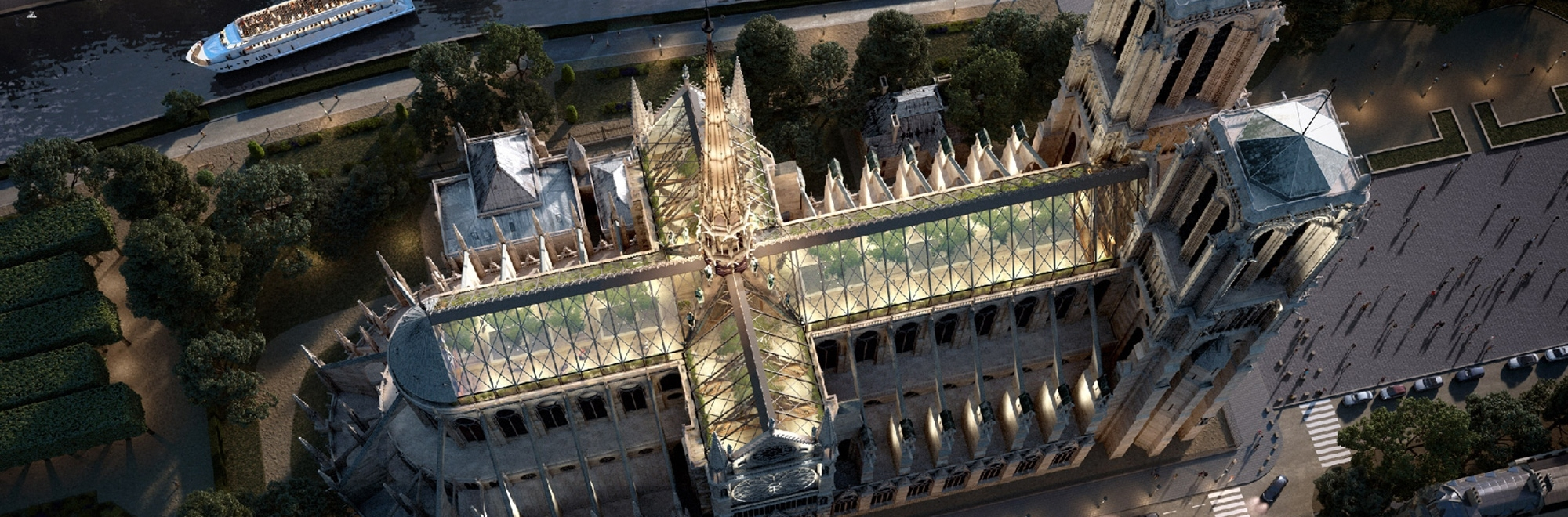 A look at the plans architects have for Notre-Dame to rise from its ashes