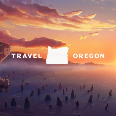 Amazing animation in the Visit Oregon ad brings a dream trip to life