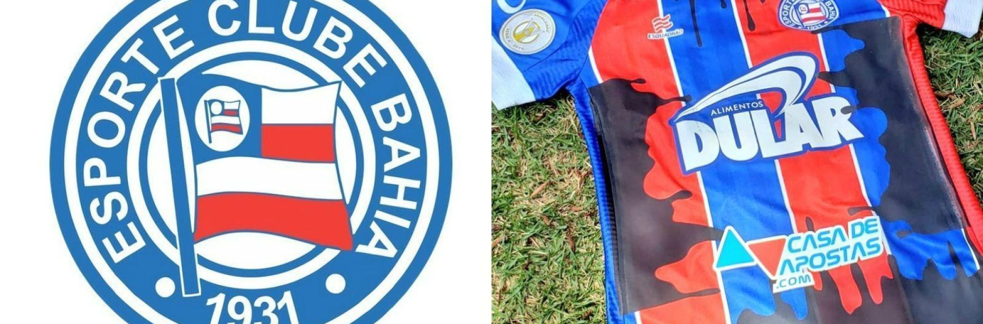 Bahia footballers wear oil-stained kit to raise awareness of environmental catastrophe