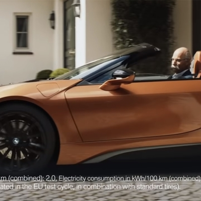 How BMW stole the limelight from Mercedes' retiring CEO in this cheeky video