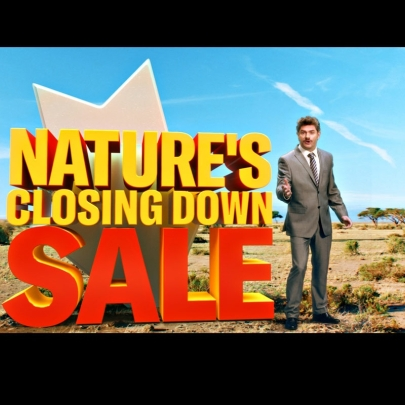 Going, going, gone: Nature's Closing Down Sale from the Born Free Foundation