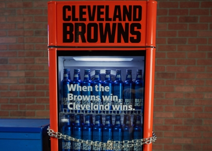 Bud Light Cleveland Victory Fridge1