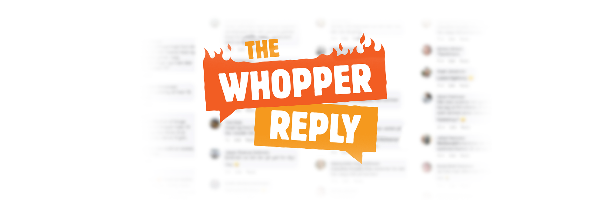 Waiting for a reply from McDonalds? Burger King has the answer.
