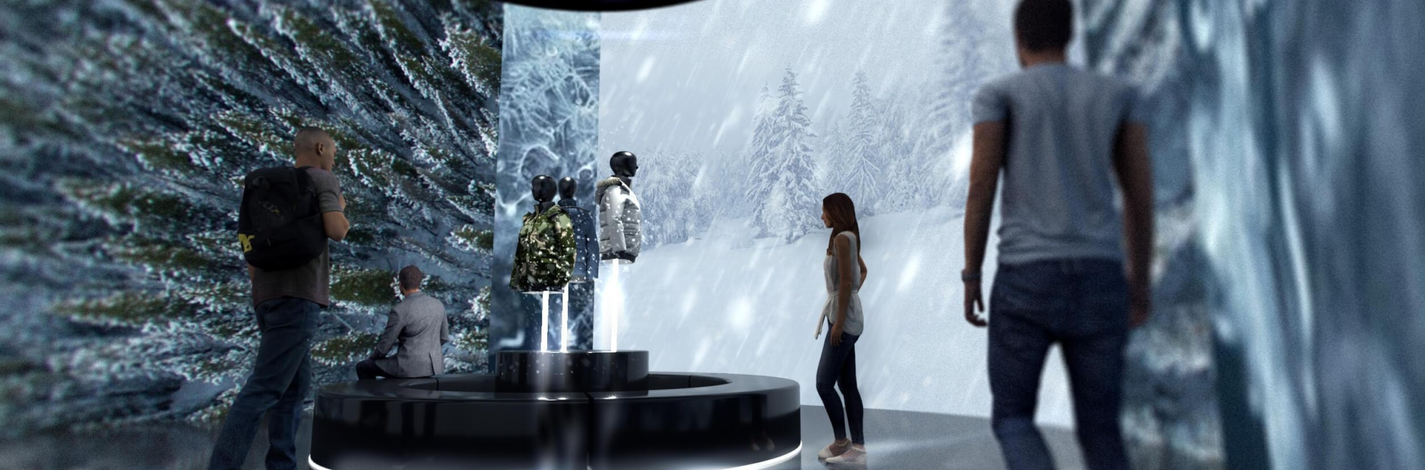 Canada Goose turns a regular shopping trip into an immersive experience