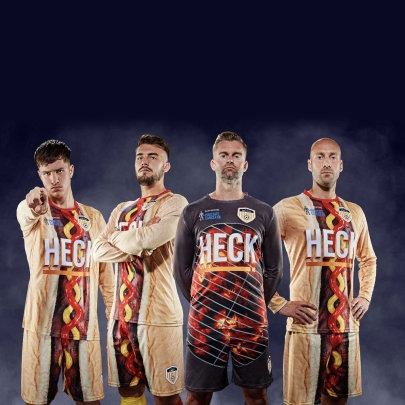 Did HECK sausages create the ugliest football kit in Britain?