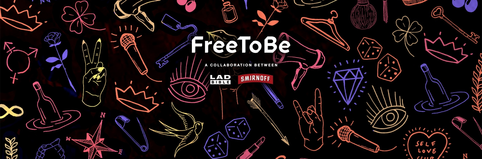 Diversity is the word in these latest collaborations between Smirnoff and LADbible