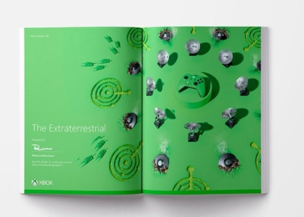 Xbox Fanchise Green Ad