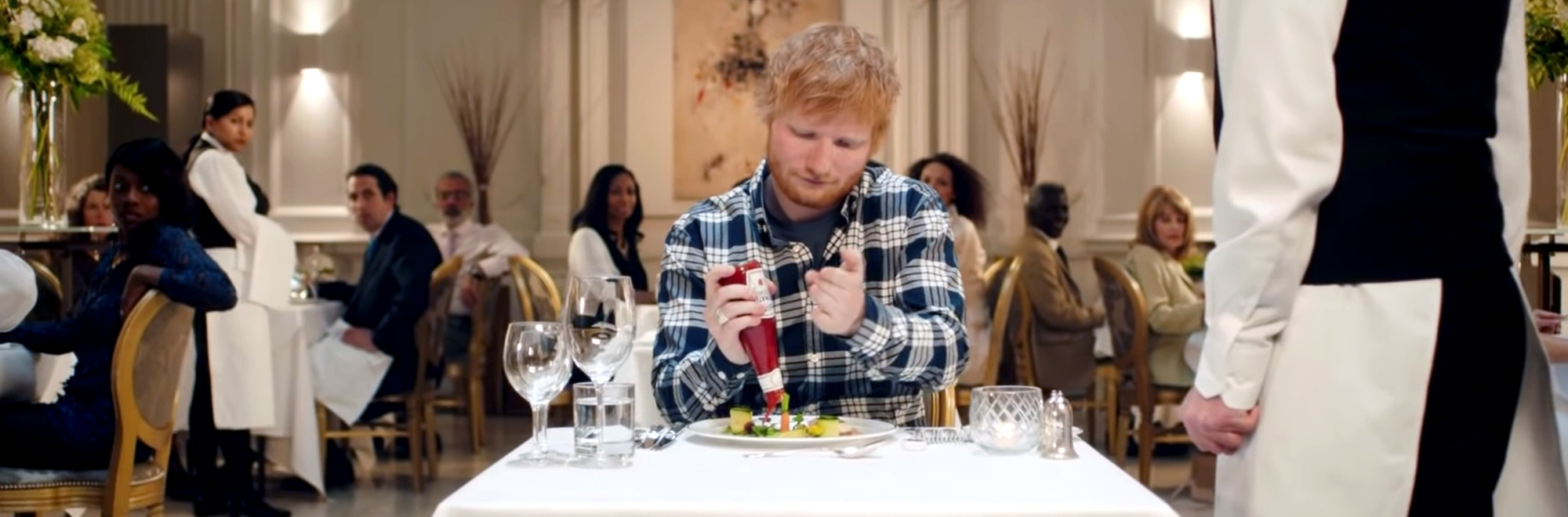 Ed Sheeran loves Heinz Ketchup, but why should we care?