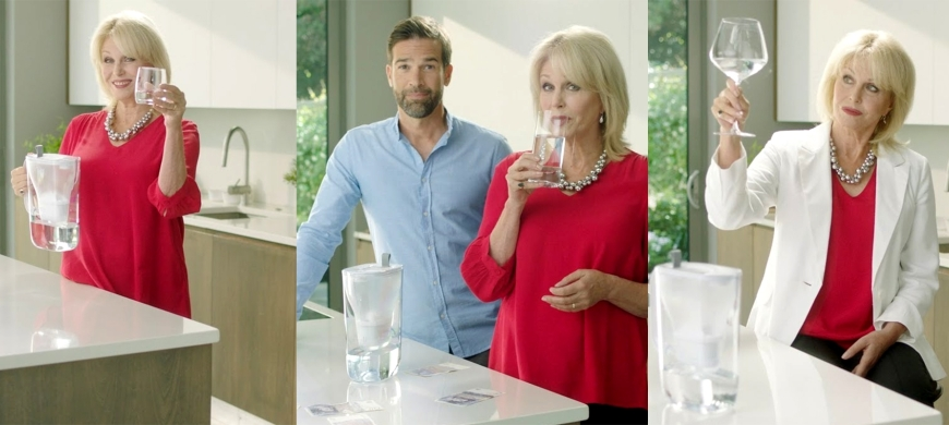 Even Joanna Lumley can't help Brita's tap water problem