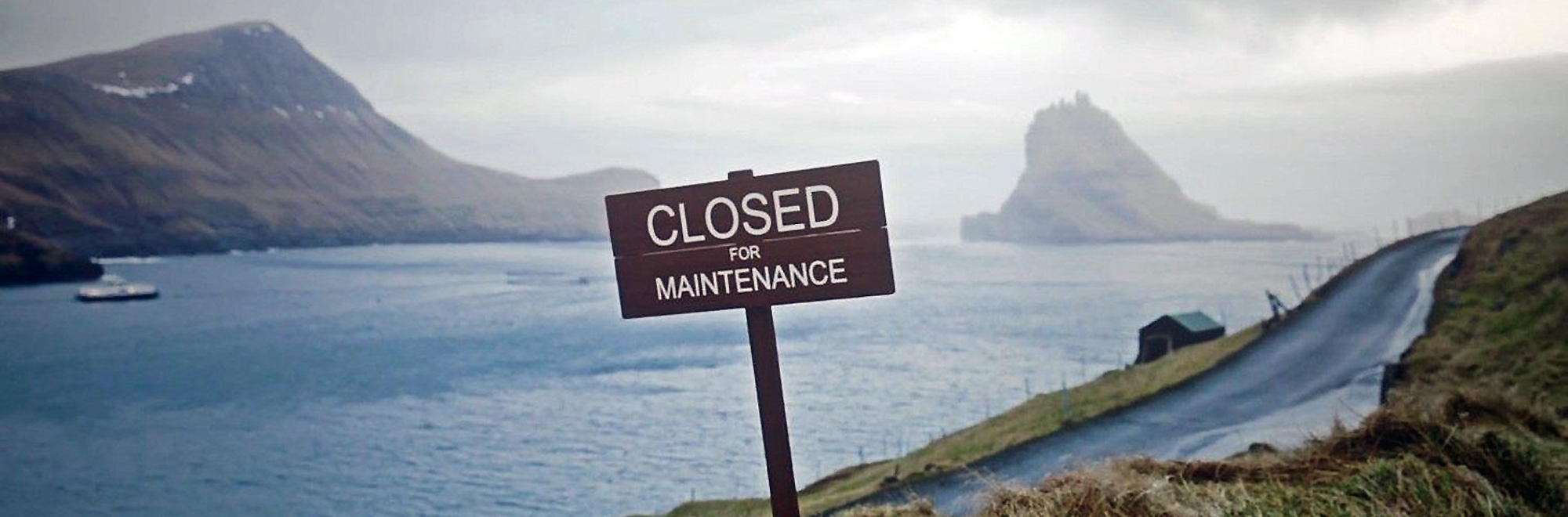 Faroe Islands are closed for maintenance, but open to some great publicity