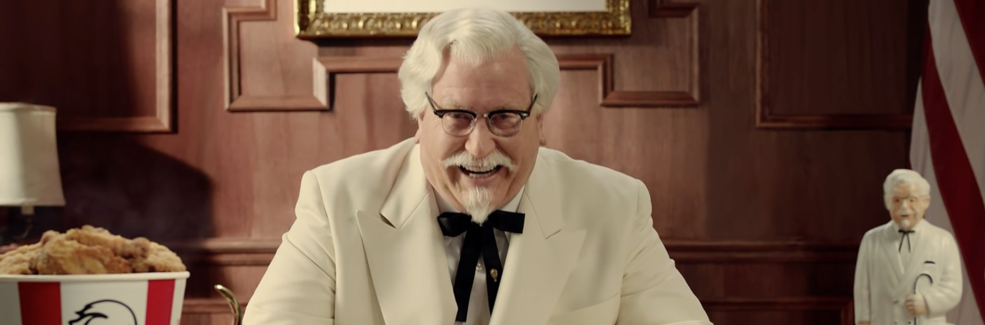 How KFC combined humour with nostalgia to generate public debate and reinvent itself