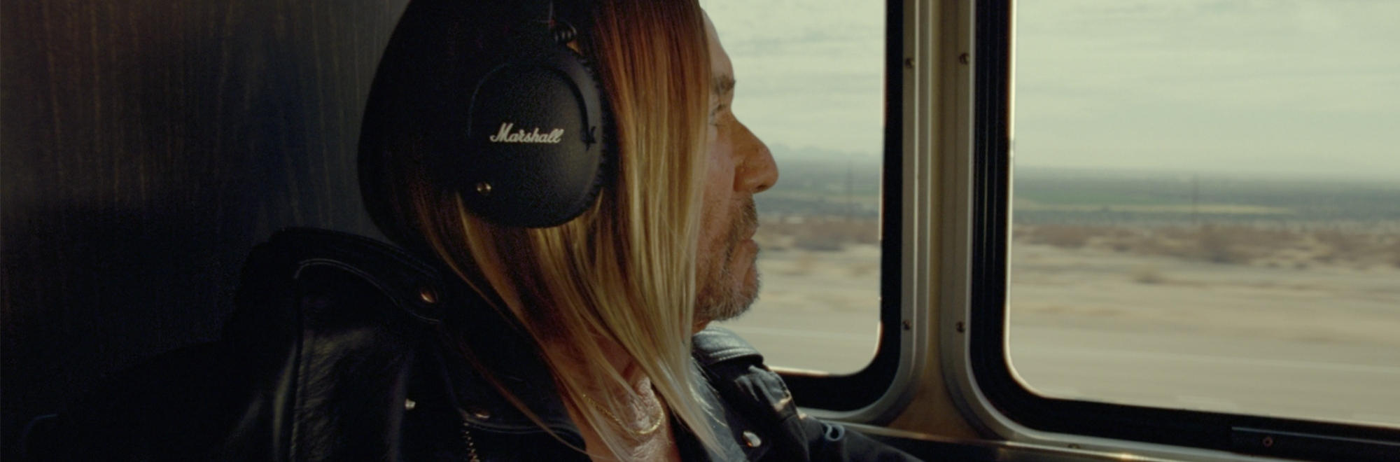 Wonderfully rebellious film starring Iggy Pop for heritage brand Marshall