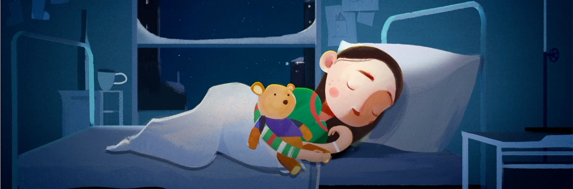 Great Ormond Street Hospital Charity launches 'Home for Christmas' campaign by adam&eveDDB