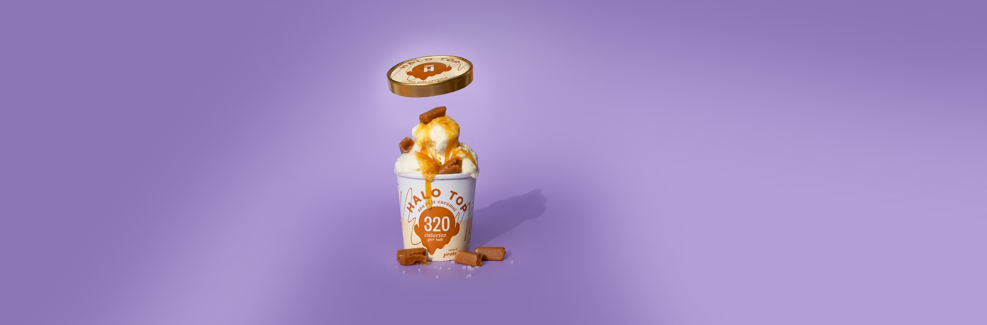 Halo Top cools down sweltering Brits with a temperature triggered giveaway