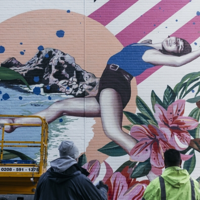 How brands are embracing street art to create a new way of talking to consumers post-pandemic