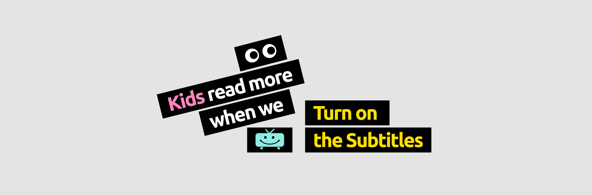 How simply turning on subtitles on TV programmes can help children with literacy