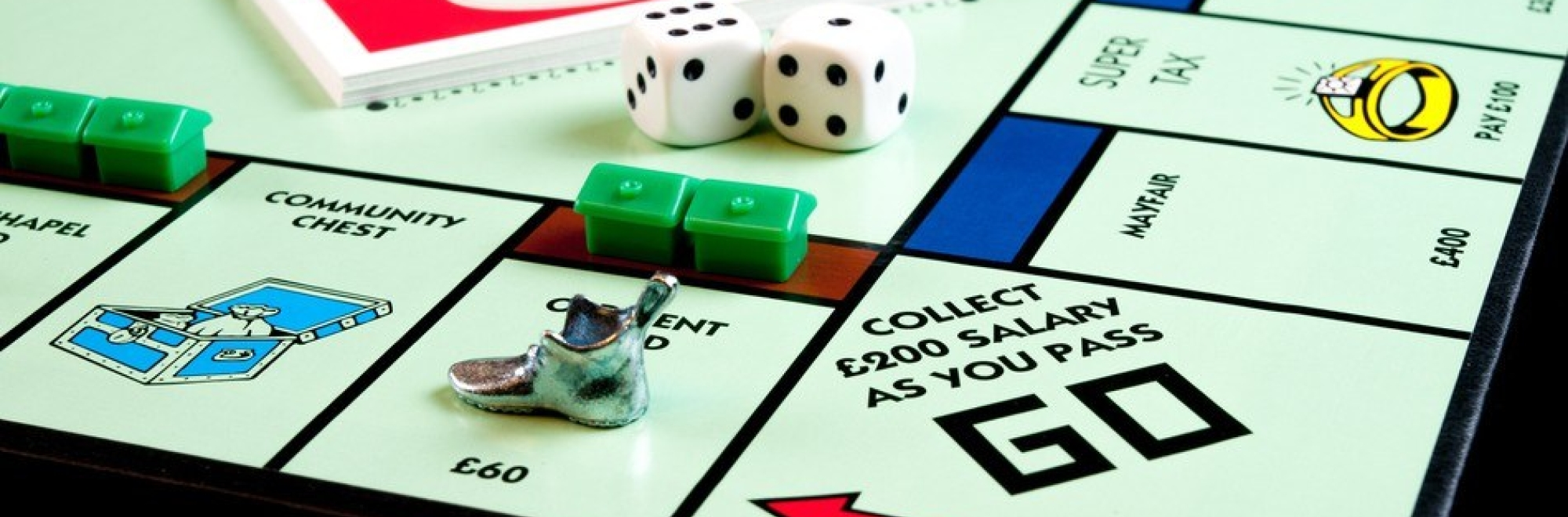 'If Monopoly was real life' provides some light relief in the run-up to Christmas