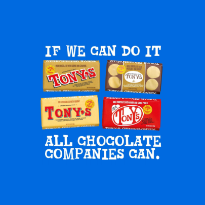 Tony's Chocolonely encourages its rivals to imitate it and help end modern slavery in the trade