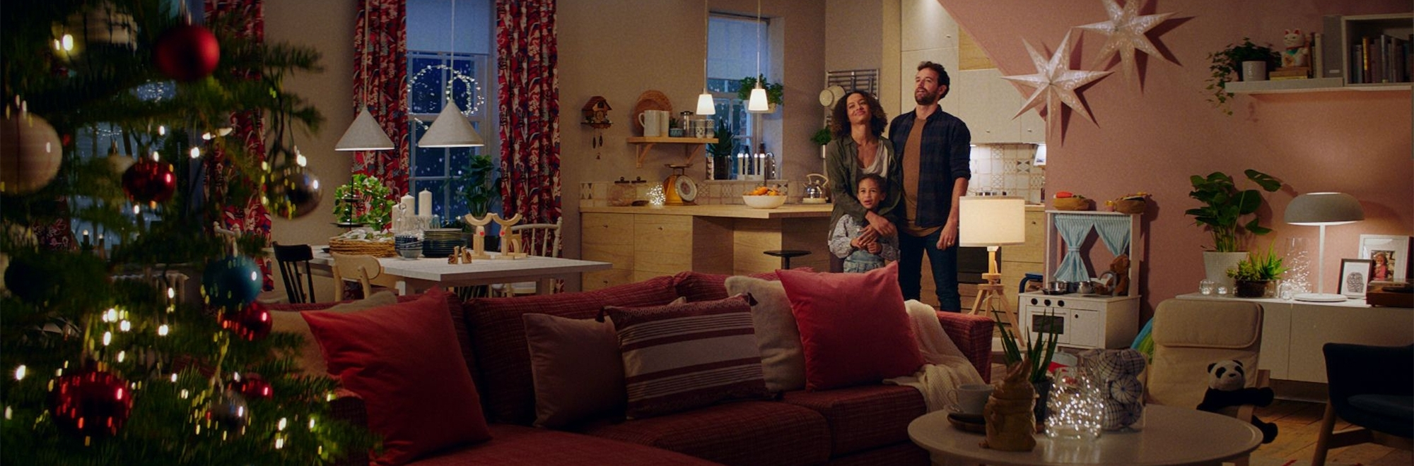 Ikea's first Christmas advert by Mother encourages the nation to defy 'home share' and host with pride