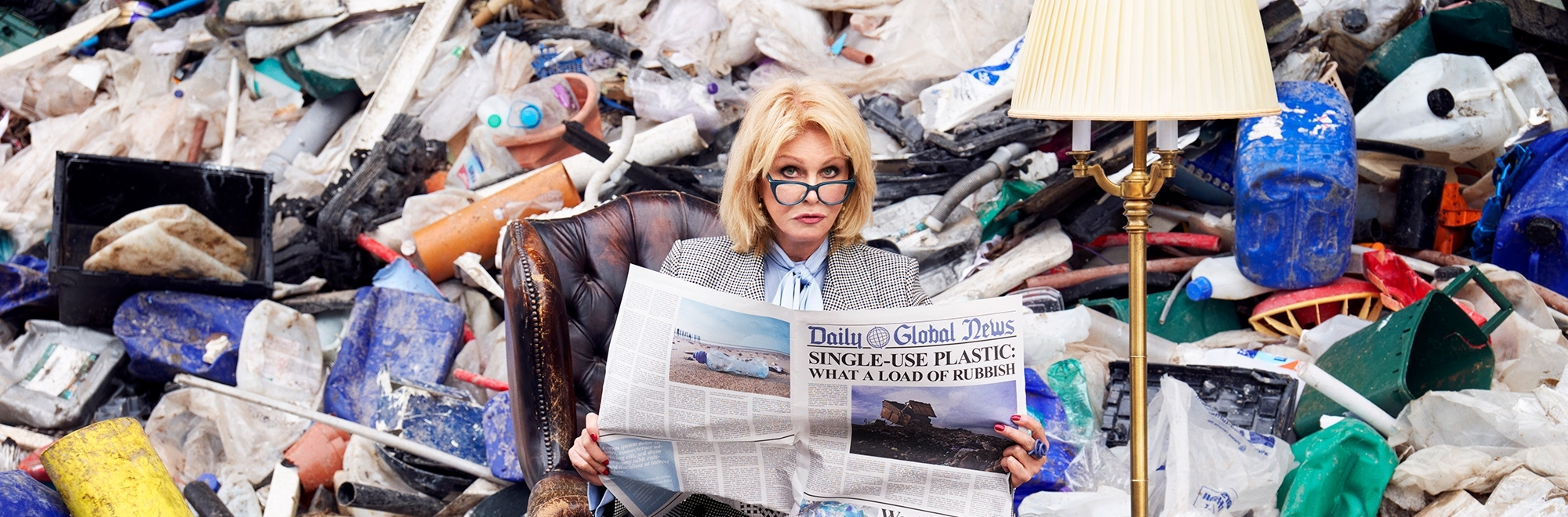 Iris and BRITA enlist Joanna Lumley to help the nation with 'Green Guilt' one step at a time