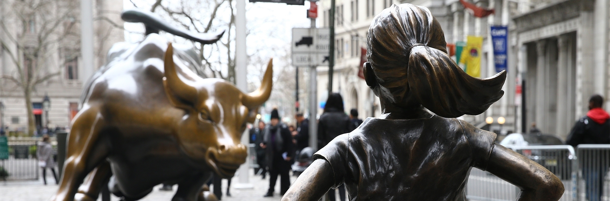 Is the Fearless Girl statue in New York art, commerce or vandalism?