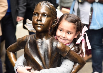 Fearless Girl With Girl