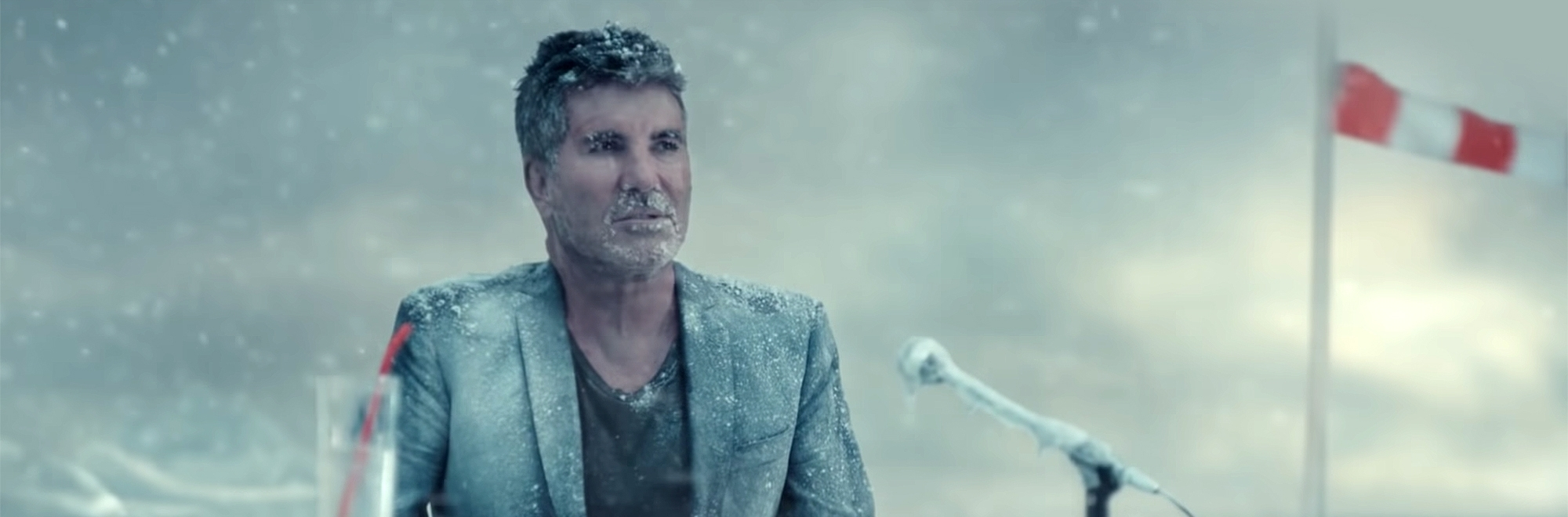 It's a frosty reception for Barclaycard's fake Antarctic talent show campaign
