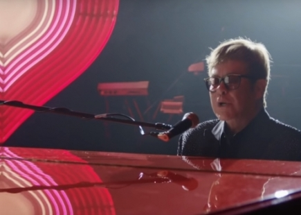 Elton By Piano