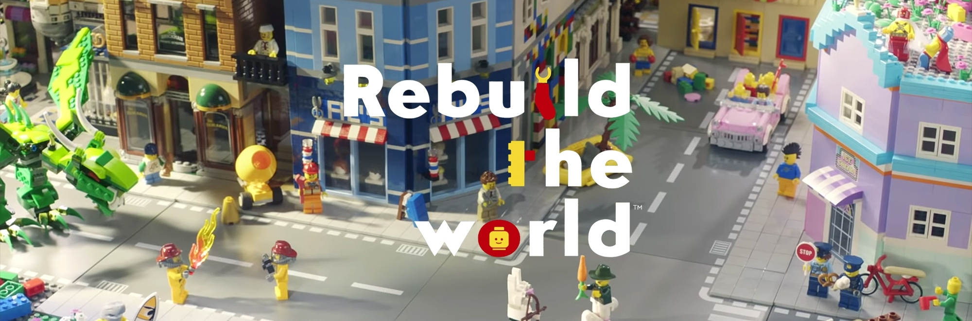 Lego says 'Rebuild the World' without destroying it