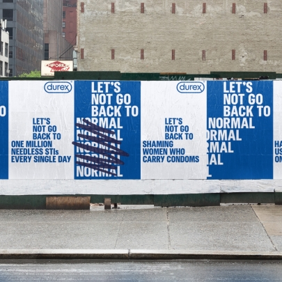 """Let's not go back to normal"", says Durex in campaign by Havas London"