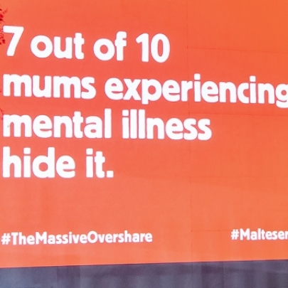 Maltesers' post-partum mental health campaign: Does it matter where the message comes from?