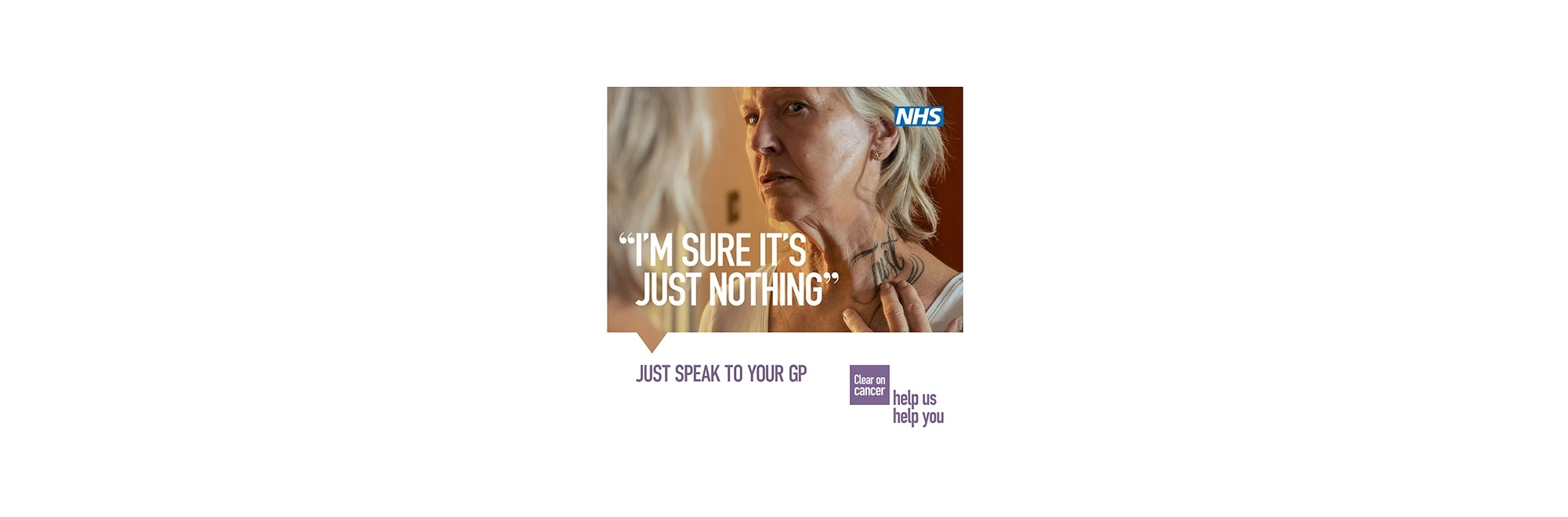 NHS England launches the 'Help Us, Help You' campaign identifying the little 'excuses' people use when they are reluctant to seek medical attention
