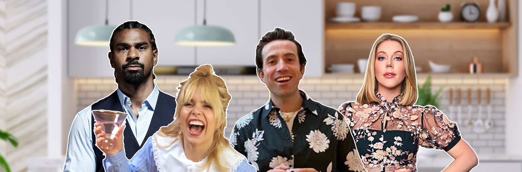 Gousto and Manifest cook up a dinner party for a million guests, hosted by Nick Grimshaw, Paloma Faith, David Haye and Katherine Ryan