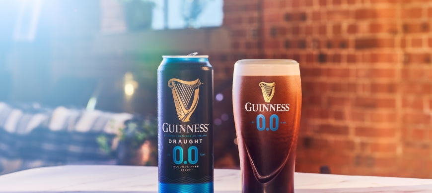 No need to wait any longer, alcohol-free Guinness is here