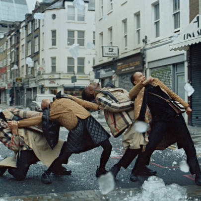 Singing in the rain and dancing in the street brings Burberry bang up to date
