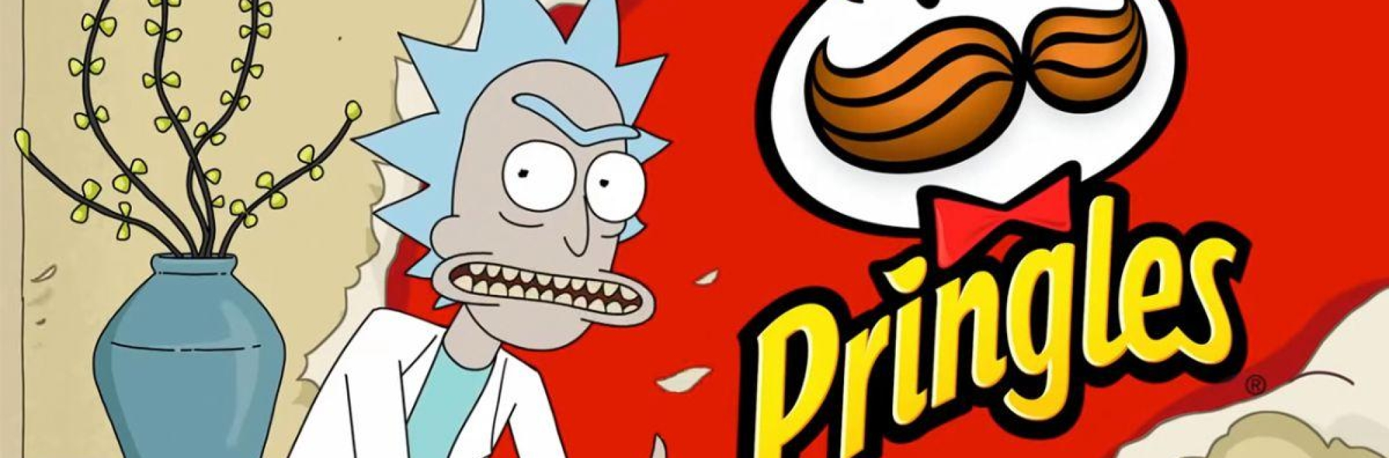 Finally Pringles gets funny with its Rick and Morty Super Bowl ad