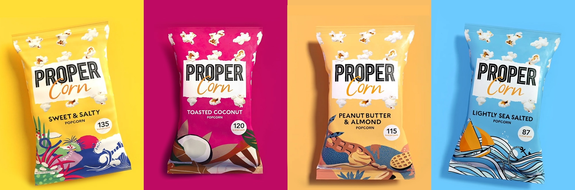 TV debut by Proper with 'Popcorn Done Properly' ad