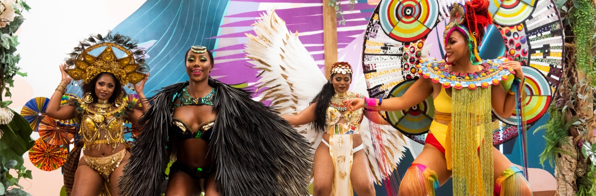 Samsung partner with Notting Hill Carnival to create a virtual 'Colours of Carnival' 8K experience