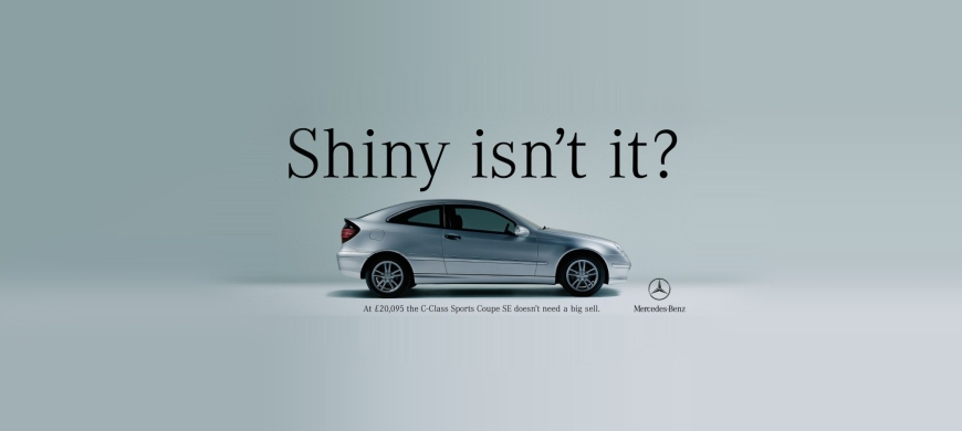 Straight-talking ads without the cliches from Mercedes-Benz