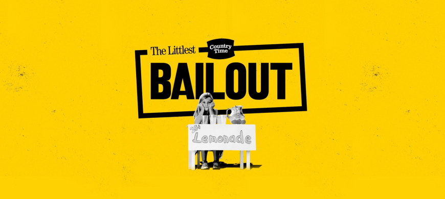 'The Littlest Bailout' keeps enterprising kids in business and Country Time Lemonade in the headlines