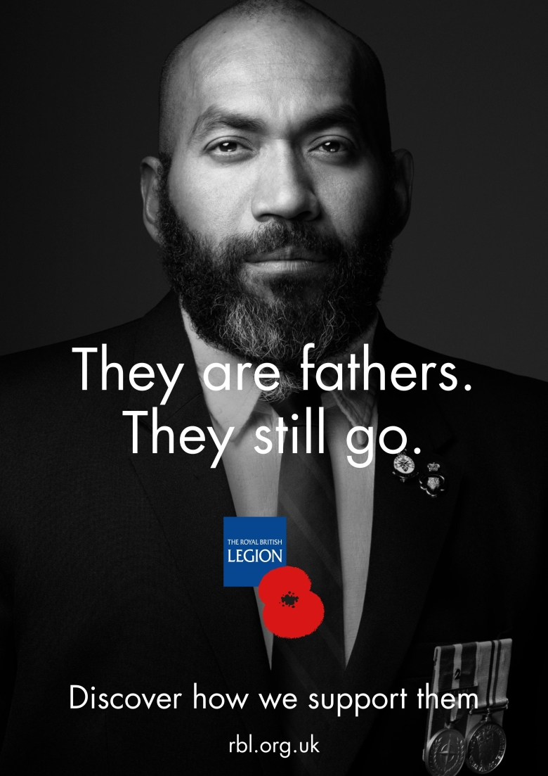 The Royal British Legion launches new 'They Still Go' campaign to highlight range of support services for ex-service personnel
