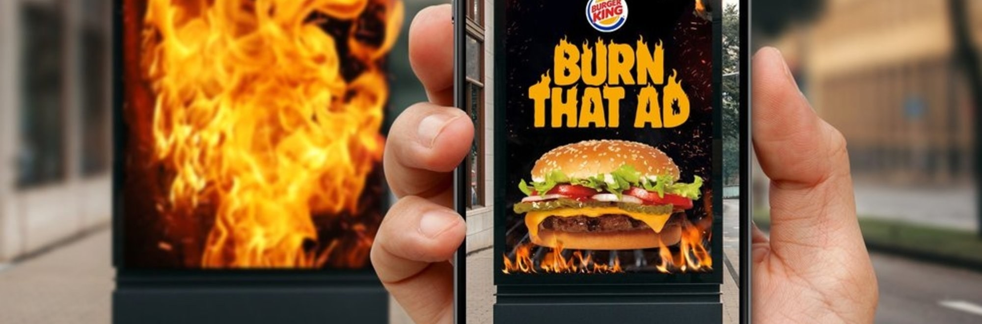 Burger King's Burn That Ad campaign: One idea but here are two contrasting reviews