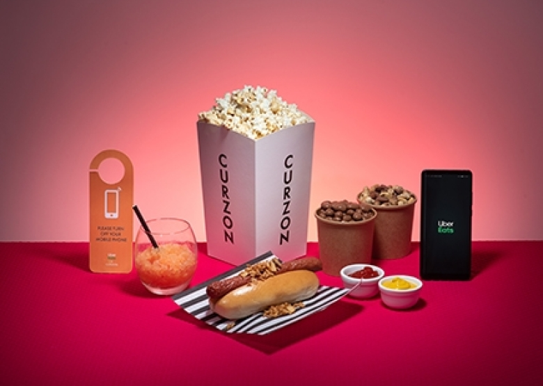 Uber Eats partners with Curzon Cinemas to deliver the ultimate movie night