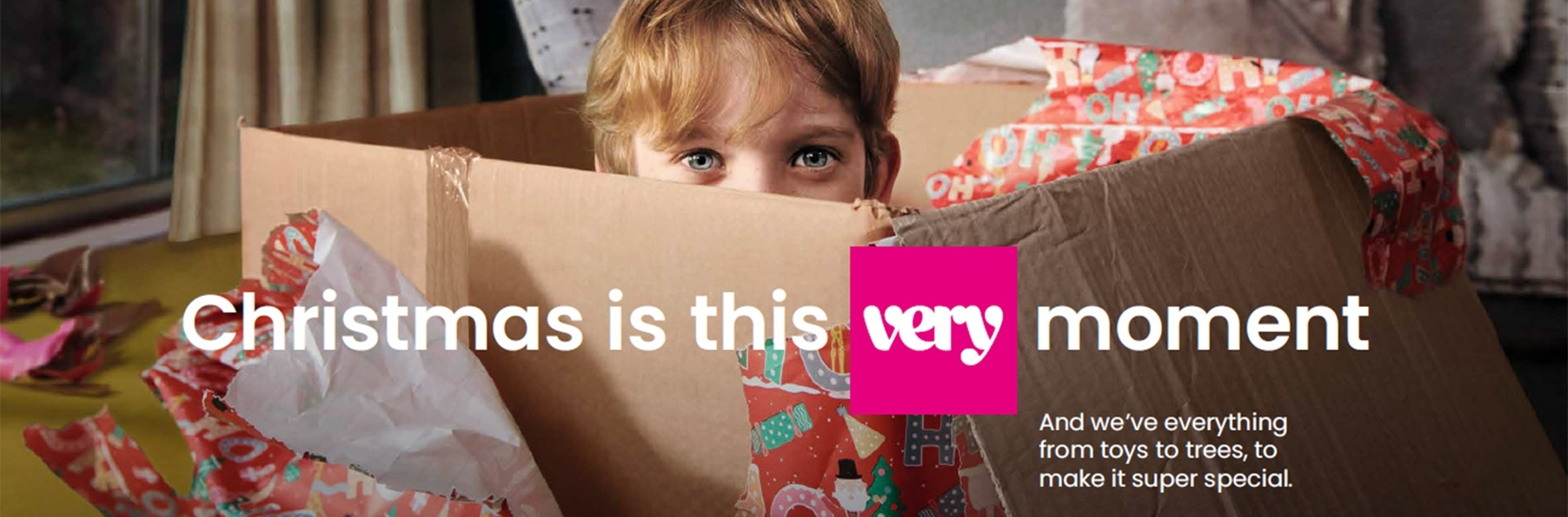 Very.co.uk's new campaign takes the cliché out of Christmas