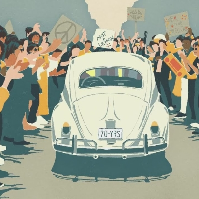 The beloved Beetle receives a well deserved send-off in The Last Mile from Volkswagen