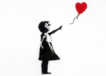 Banksy Girl With Balloon 2