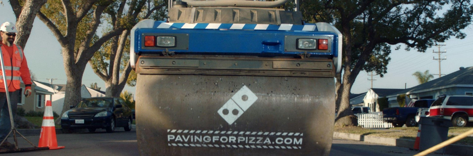 Why Domino's filled (3 of) America's pot holes!