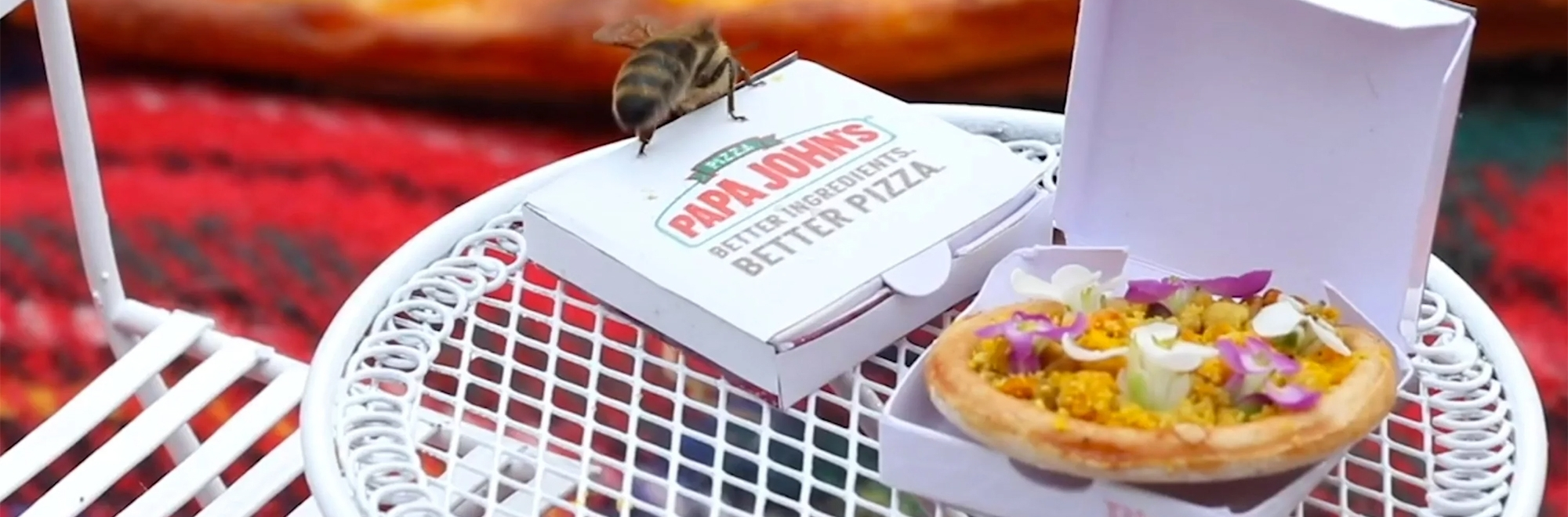 Why Papa John's created a pizza for bees
