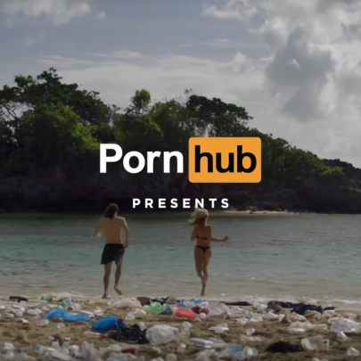 Why Pornhub's 'cleaner beaches' campaign sees it accused of woke washing