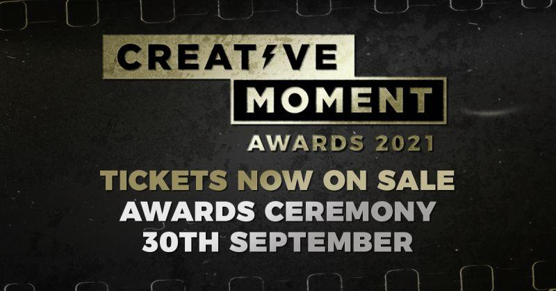 Creative Moment Awards 2021 tickets on sale